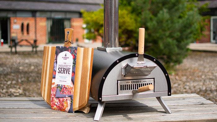 Alfresco Brands wood fired oven