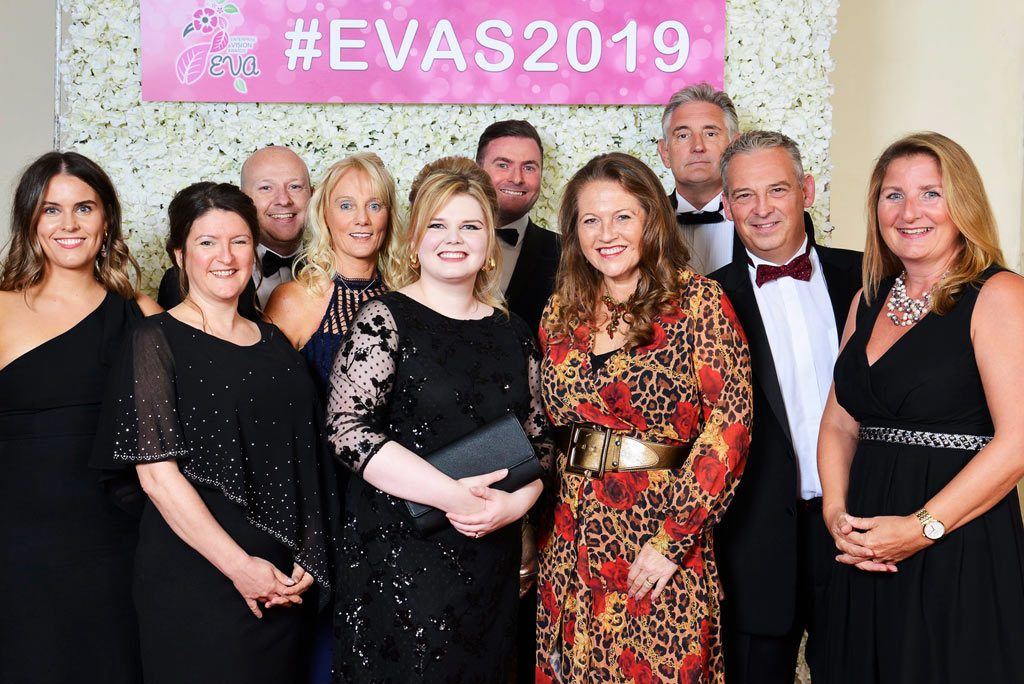 EVAs 2019 - The Lucky 6 Marketing table