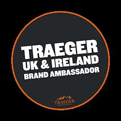 Traeger brand ambassador badge